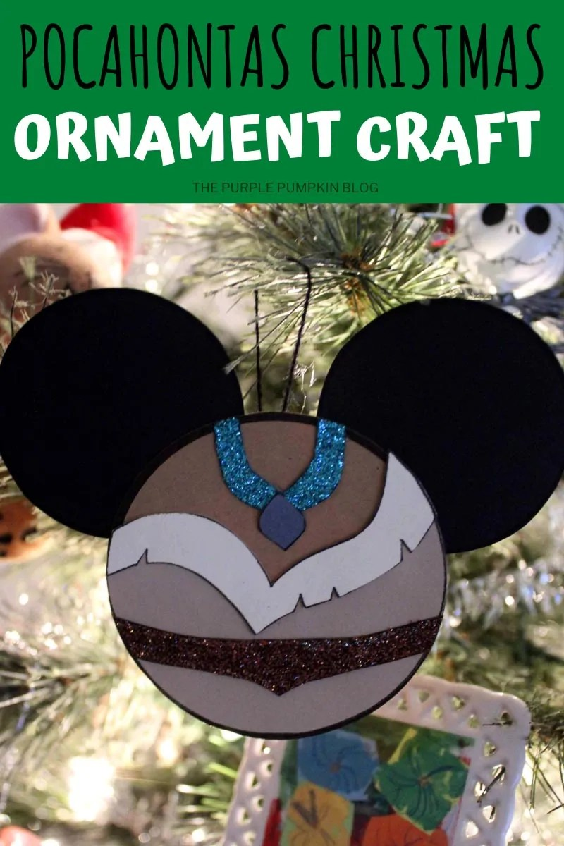 Pocahontas Christmas Ornament Craft