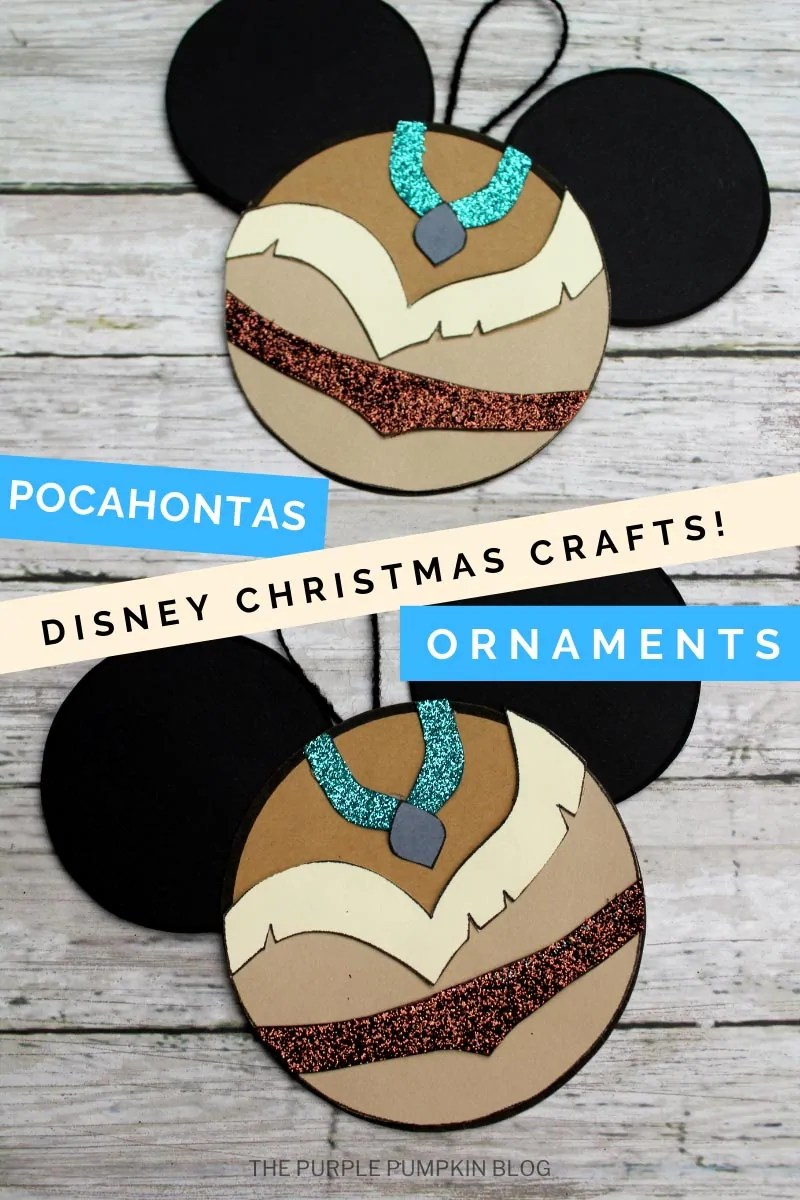 Pocahontas Disney Christmas Crafts Ornaments