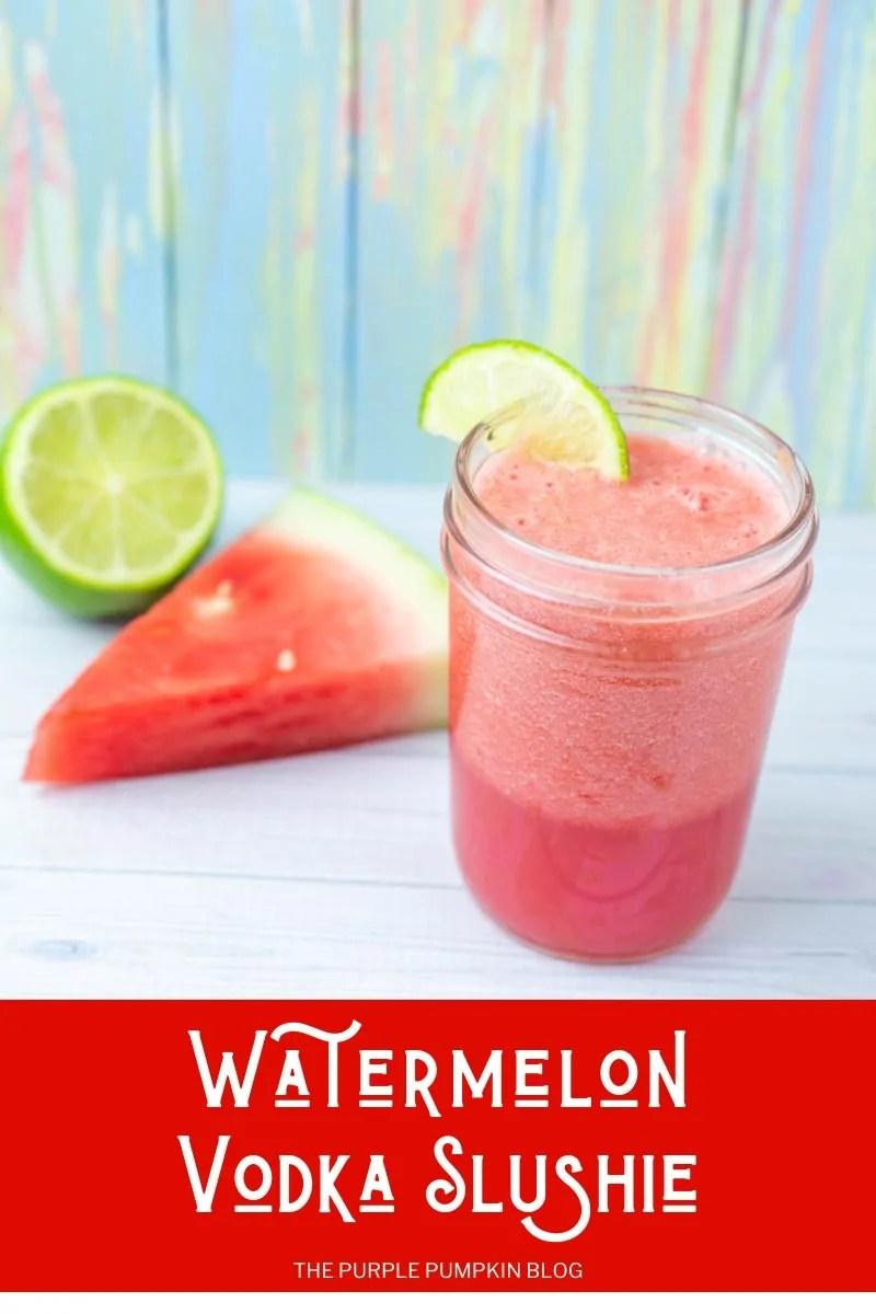 Watermelon Vodka Slushie