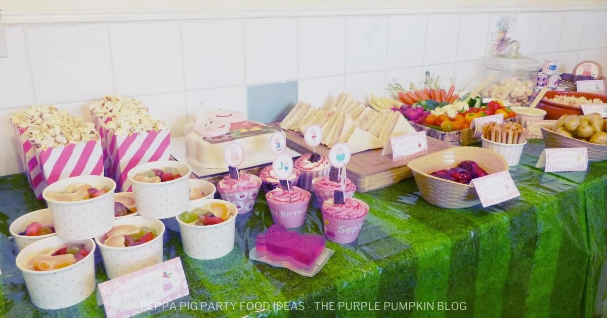 Awesome Peppa Pig Party Food Ideas That Kids Will Love