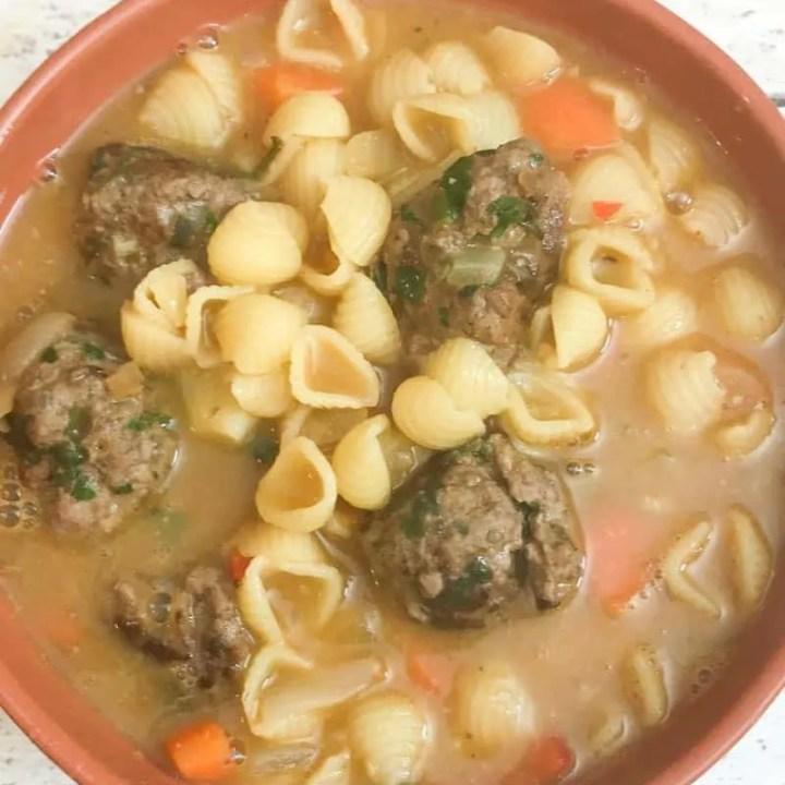Slimming World Meatball Soup Recipe