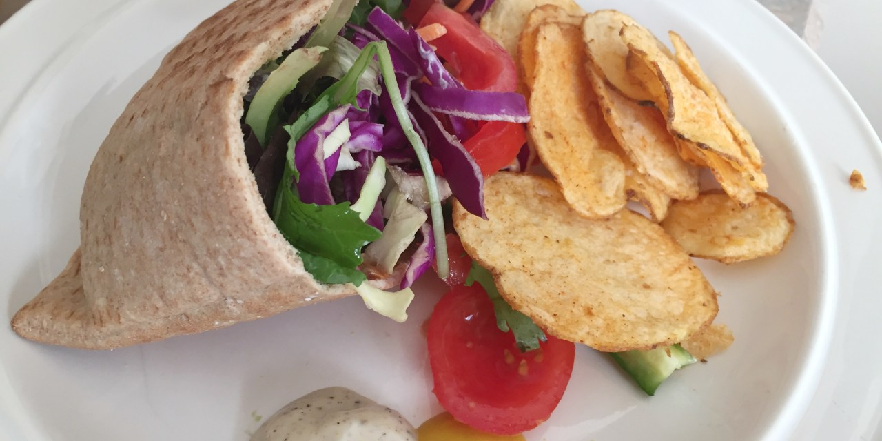 Quick & Easy Low Carb Turkey Pita Pocket