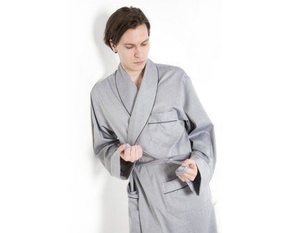 Silver - Grey Finesse Robe