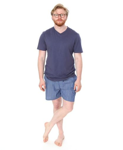 CJ Man Stripey Bed Shorts