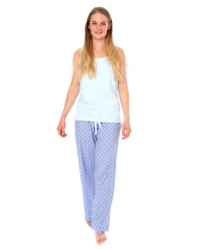 Blue Polka Dot PJ Bottoms
