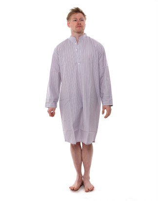 Grape Stripe Nightshirt