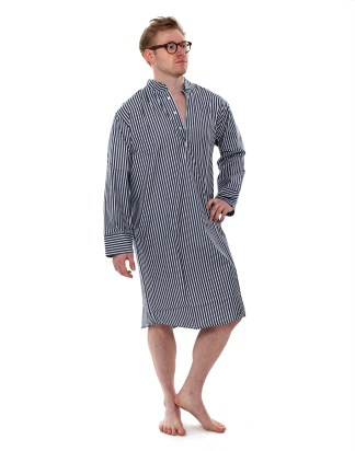 Denim Stripe Charlie Nightshirt