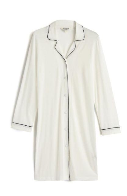 Cream Jersey Nightshirt