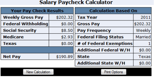 paycheck calculator intuit