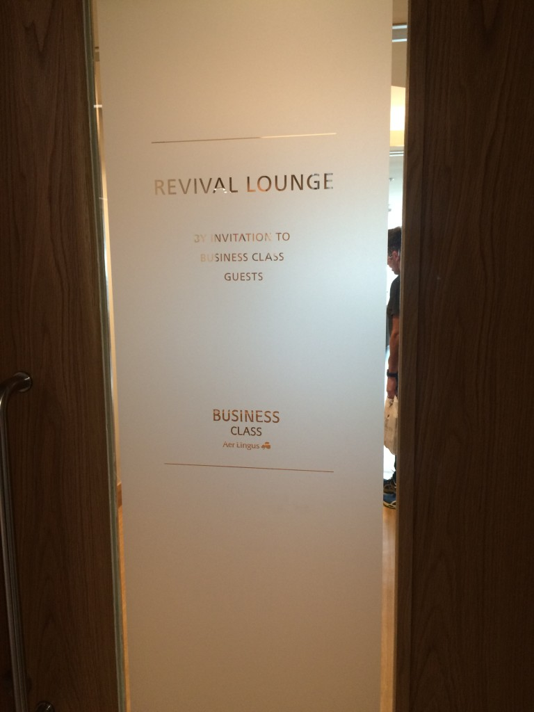 Entrance to the Revival Lounge