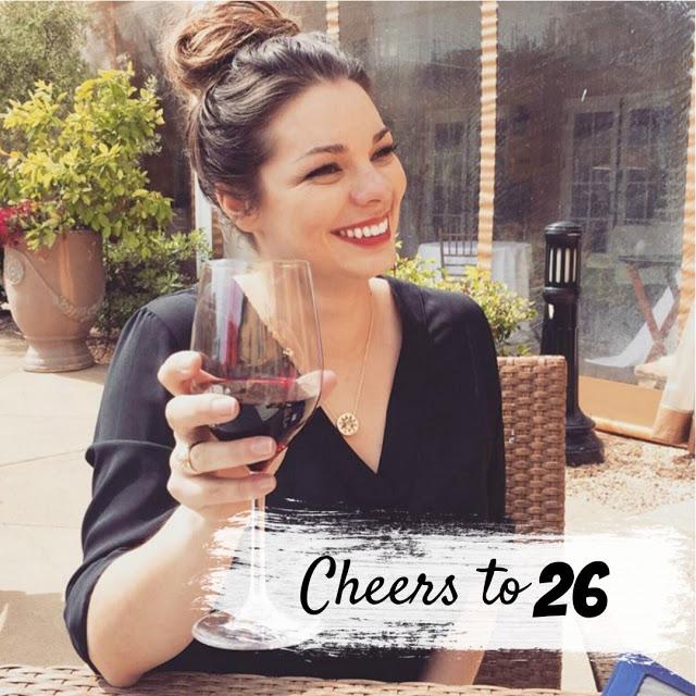 Cheers to 26 - The Queen in Between