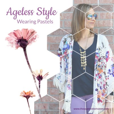 Pastels + Ageless Style Link-up