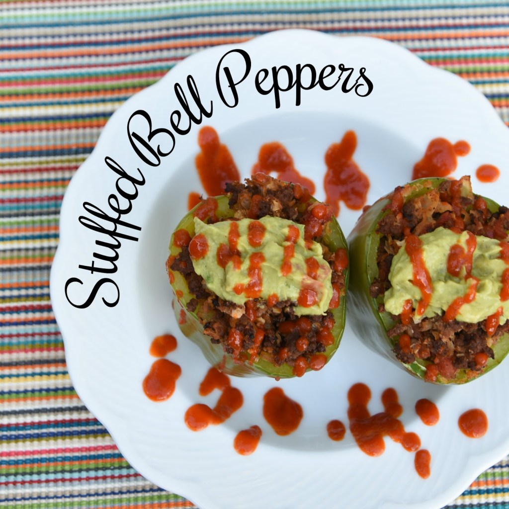 Low Carb Stuffed Bell Peppers - The Queen in Between