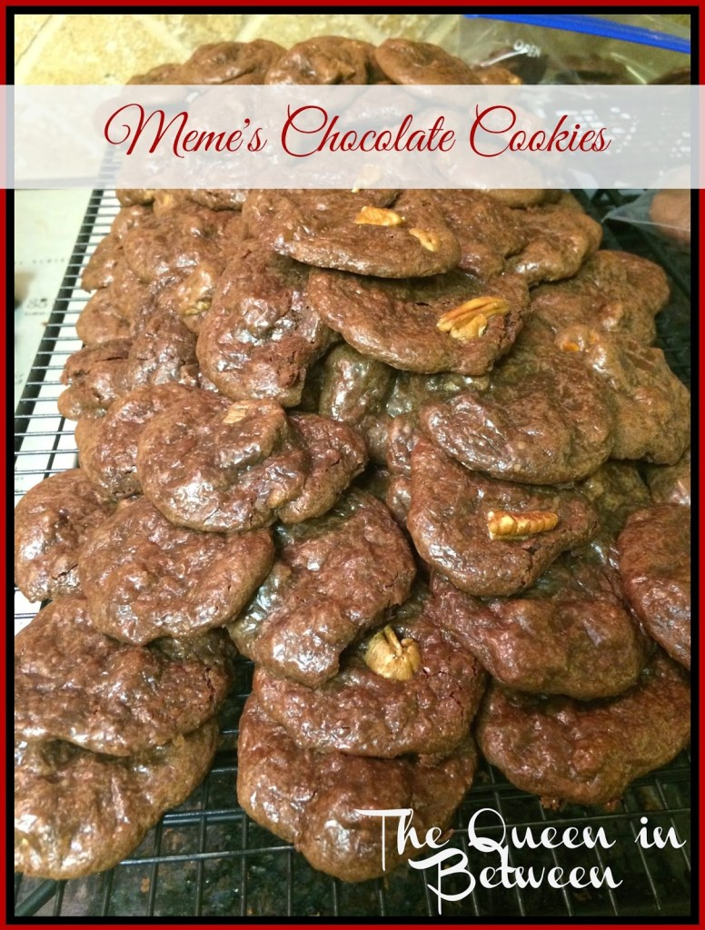 Meme's Chocolate Cookies