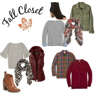 Fall – Transitioning Your Closet