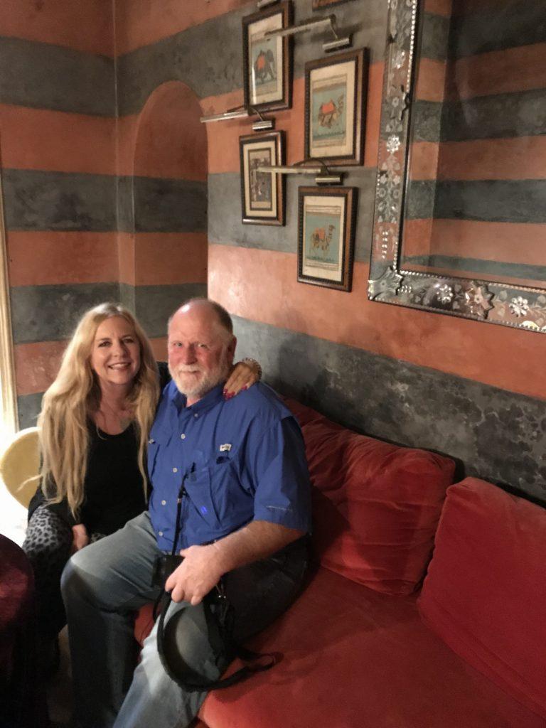 Don & Patti in Marrakech