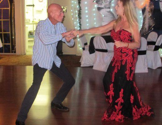 My friend Richard & me dancing at my 60th birthday party last November
