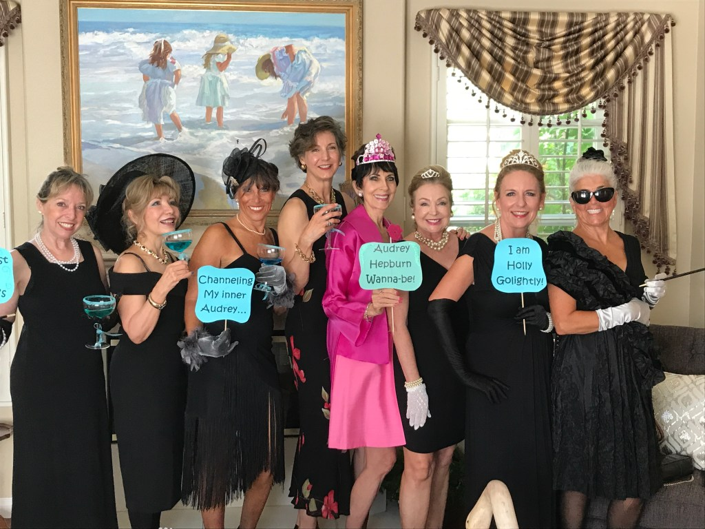 "Most of the lovely ladies who came out to enjoy the ""Breakfast at Tiffany's"" party!"