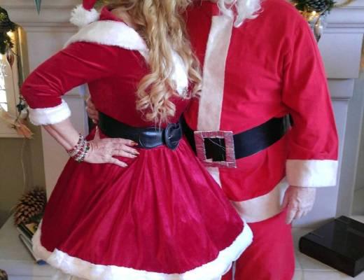 Santa & Mrs. Claus still have that spark!