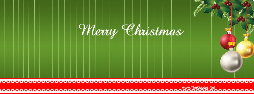 Facebook Cover Image Merry Christmas