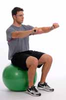 Thera-Band Tubing Chest Press