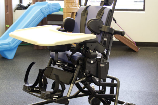 The Rifton Activity Chair is a positioning chair that provides versatile and adaptable seating for clients with disabilities ranging from pediatric to adult.