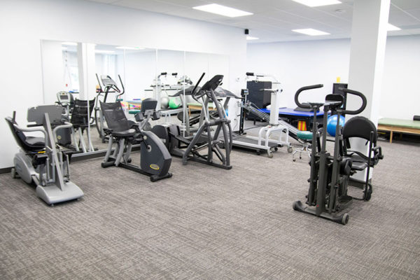 therafit rehab physical therapy towson md main gym 800wX533h