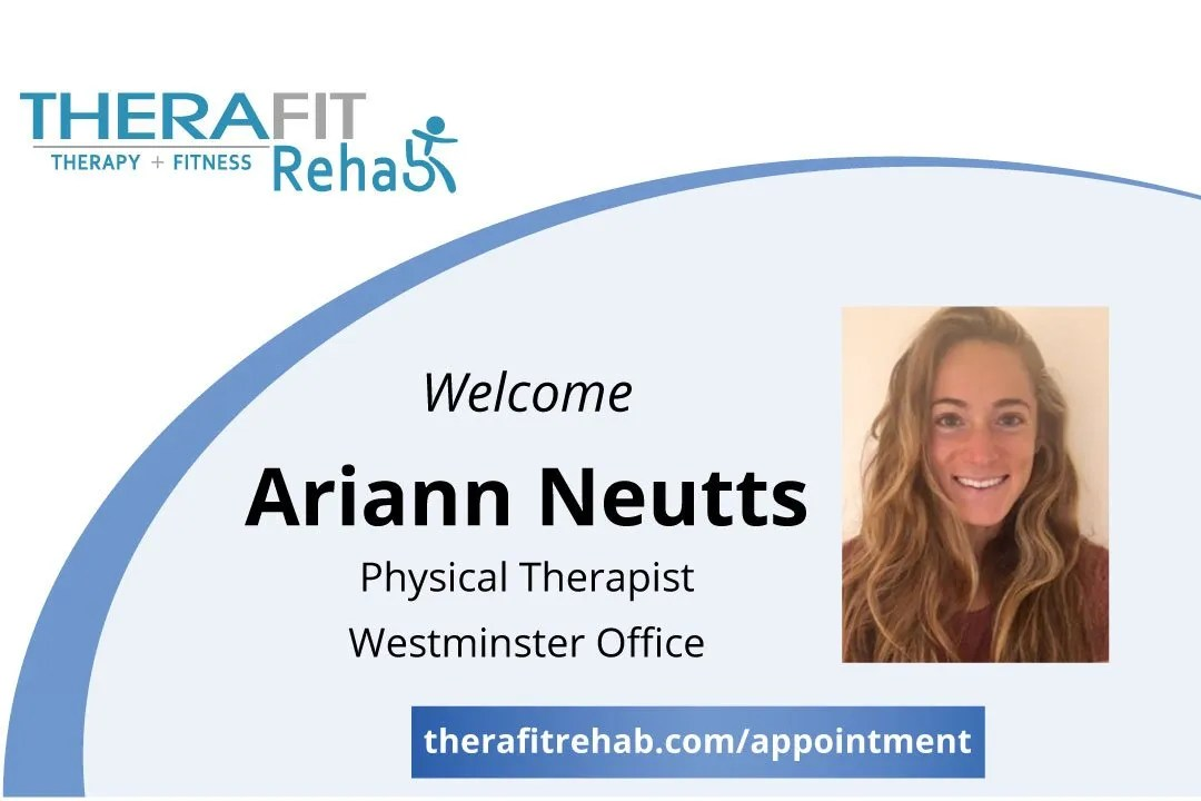 Ariann Neutts, Physical Therapist, Therafit Rehab Westminster MD
