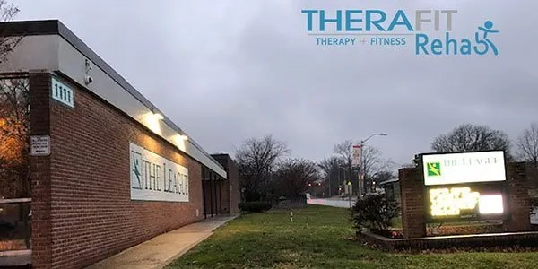 Therafit Rehab Baltimore/Cold Spring inside The League