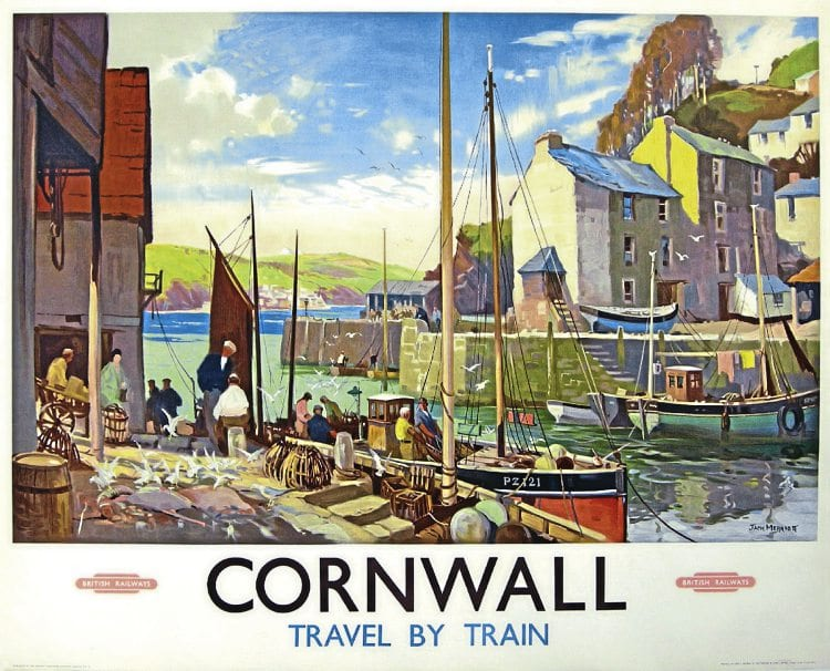 Plain sailing for Cornwall railway poster as it sells for