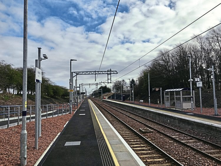 Shotts line £160m wiring work completed on time - The Railway Hub