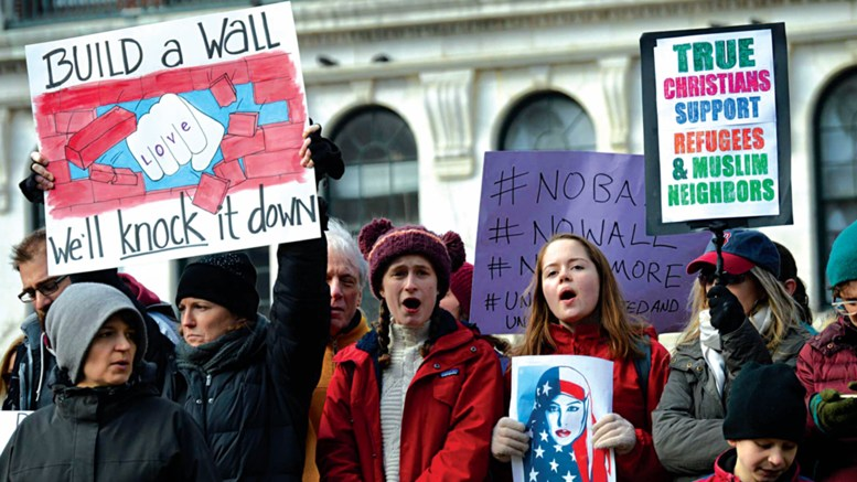 millions protest against Trump executive orders