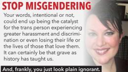 misgendering