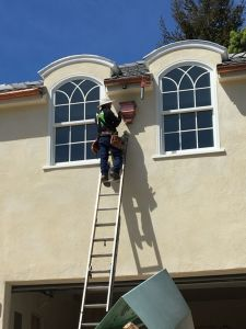 rain gutters cleaning