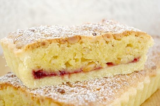 Pinolata, Italian pine nut tart, Jamie Schler, Life's a Feast, The Rambling Epicure