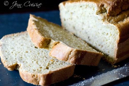 Gluten Free Zucchini Bread by Jenn Oliver