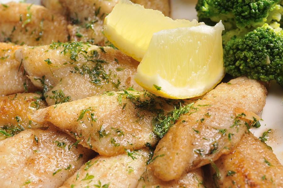 Filet de perche / perch filet, Switzerland, Swiss food and cuisine, recipe