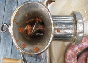Archimedes Screw - sausage grinder - Alice DeLuca 2012 (C) digimarc