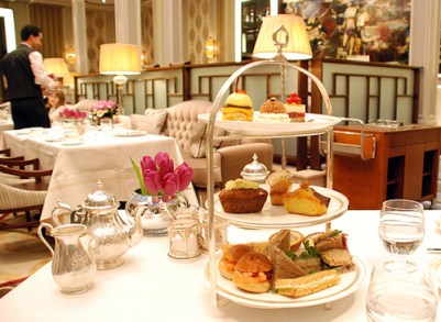 High tea in London, England, creative common license photo from http://www.hotelchatter.com/story/2010/1/19/18401/9346/hotels/Revealed%3A_The_London_Hotel_We_Chose_For_Afternoon_Tea