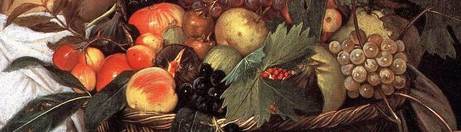 800px-detail.Caravaggio_-_Boy_with_a_Basket_of_Fruit_(detail)_-_WGA04075 copy