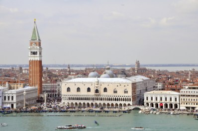 View of San Marco from San Giorgio Maggiore Church Tower