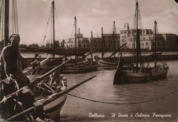 bellaria igea marine traditional fishing boat batana Adriatic Sea Nonna Violante, #lovingromagna