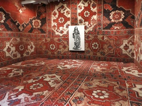 Rudolf Stingel exhibit at Plazzo Grassi Venice François Pinault Italy Venezia