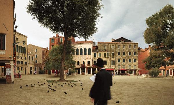 campo gheto novo ghetto nuovo Jewish ghetto venice italy italia