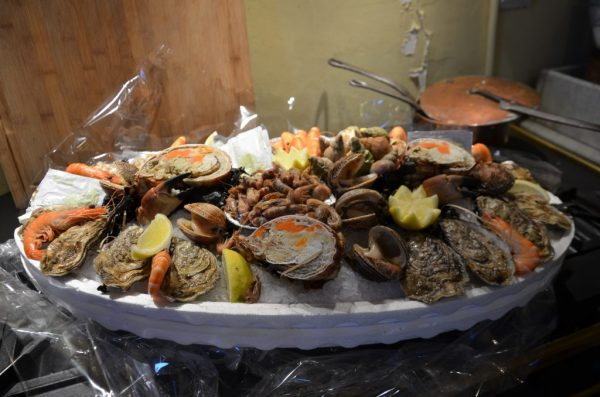 seafood platter normandy plateau de fruits de mer france