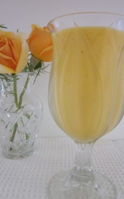 Mango milkshake by Renu Chhabra, all rights reserved (R)