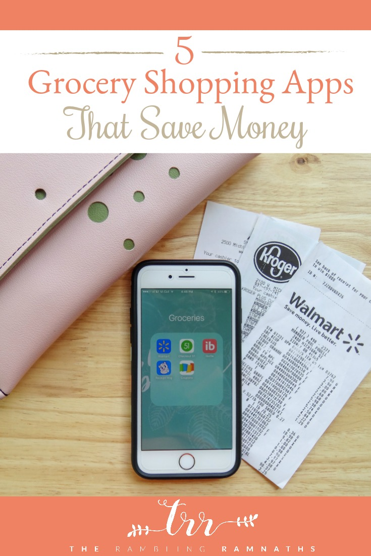 Feeding a family is not cheap! Every trip to the grocery store seems like it gets more and more expensive. Here are 5 apps that you can download onto your phone that will help you save money on your groceries. Plus, they are quick and simple to use.