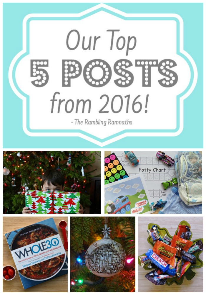 Our Top 5 Posts from 2016