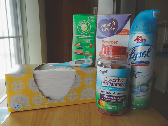 9 Essential Items for a Sick Child + A Free Printable