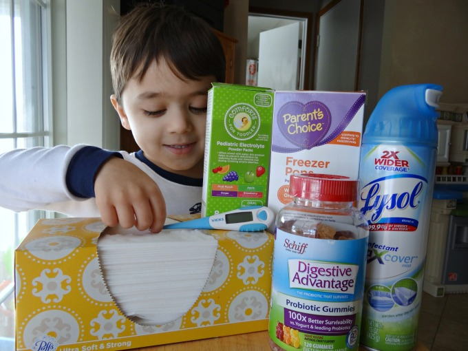 9 Essential Items for When Your Child Gets Sick and a FREE Printable